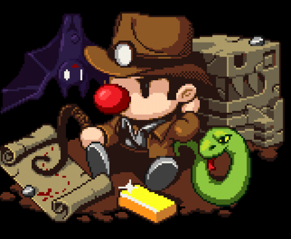 "Spelunky generates a unique emotion called ""anger-fun""."