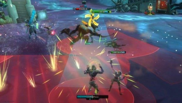 WildStar Combat Screenshot