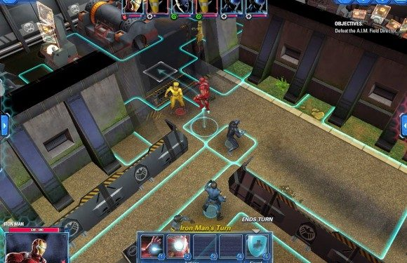Marvel AA Tactics Screenshot