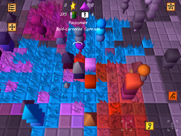 Q*bert plus Marble Madness plus Intelligence Qube plus your favorite Pink Floyd song.