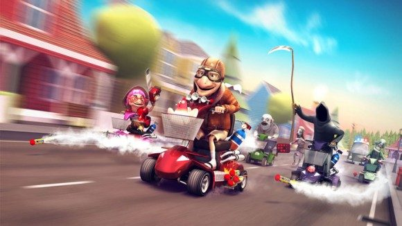 Coffin Dodgers: Go Grandma Go!