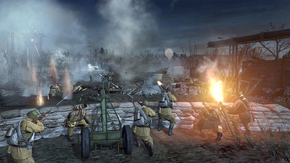 Company Of Heroes 2 Takes On The Battle Of The Bulge Mxdwn Games