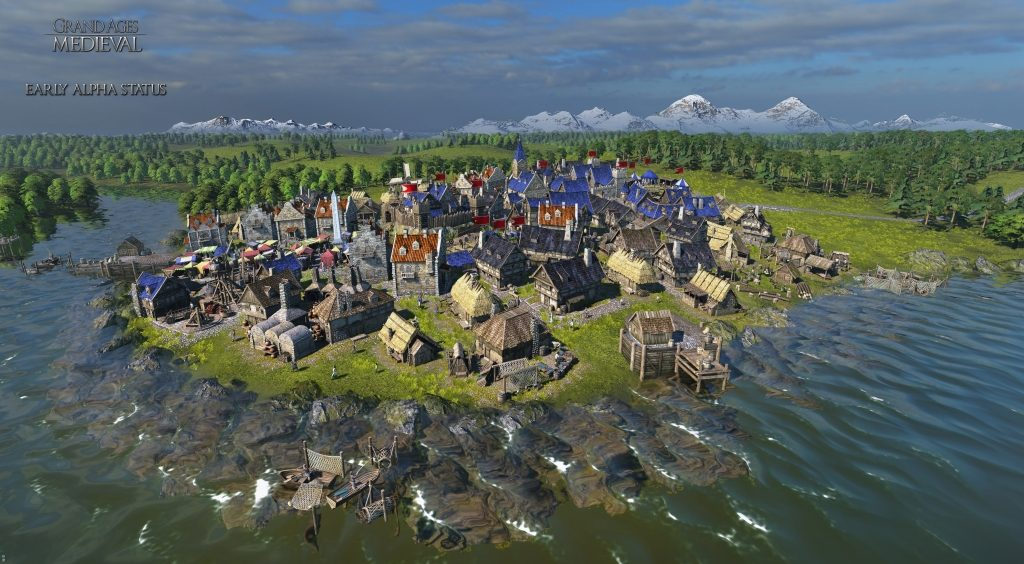medieval rts game