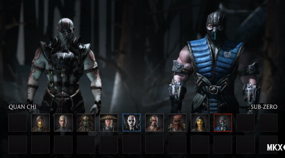 Just in case you've spent the last 24 years in a cave, Quan Chi is the one on the left.