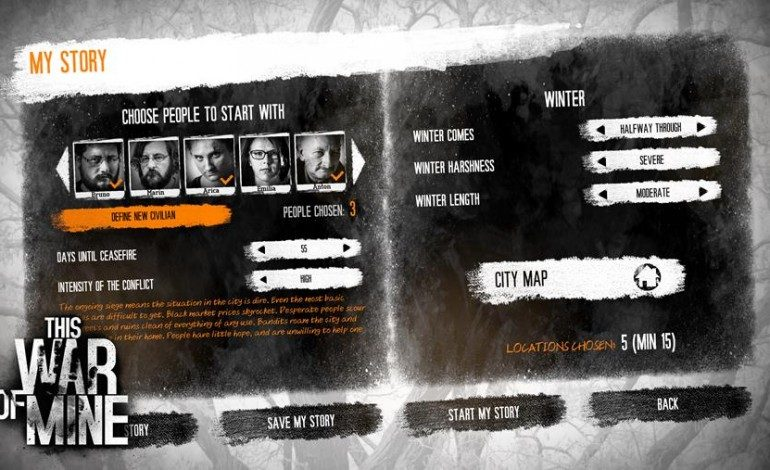 This War of Mine Gets Scenario Editor and New Locations