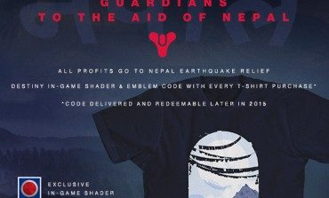 Bungie Launches Destiny Limited Edition Nepal Aid T-shirt