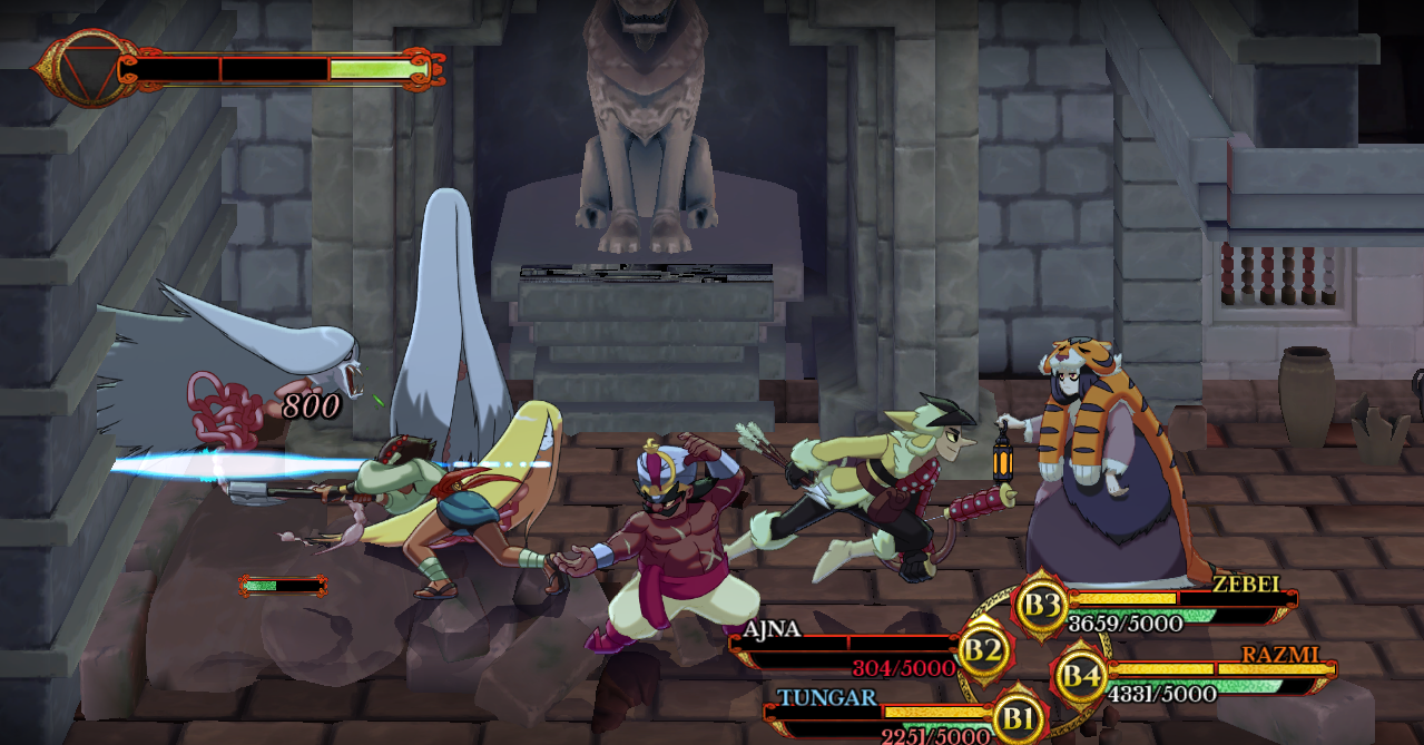 Indivisible enemy encounter