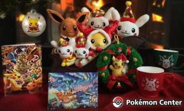 Pokemon Holiday Merch is coming to town!