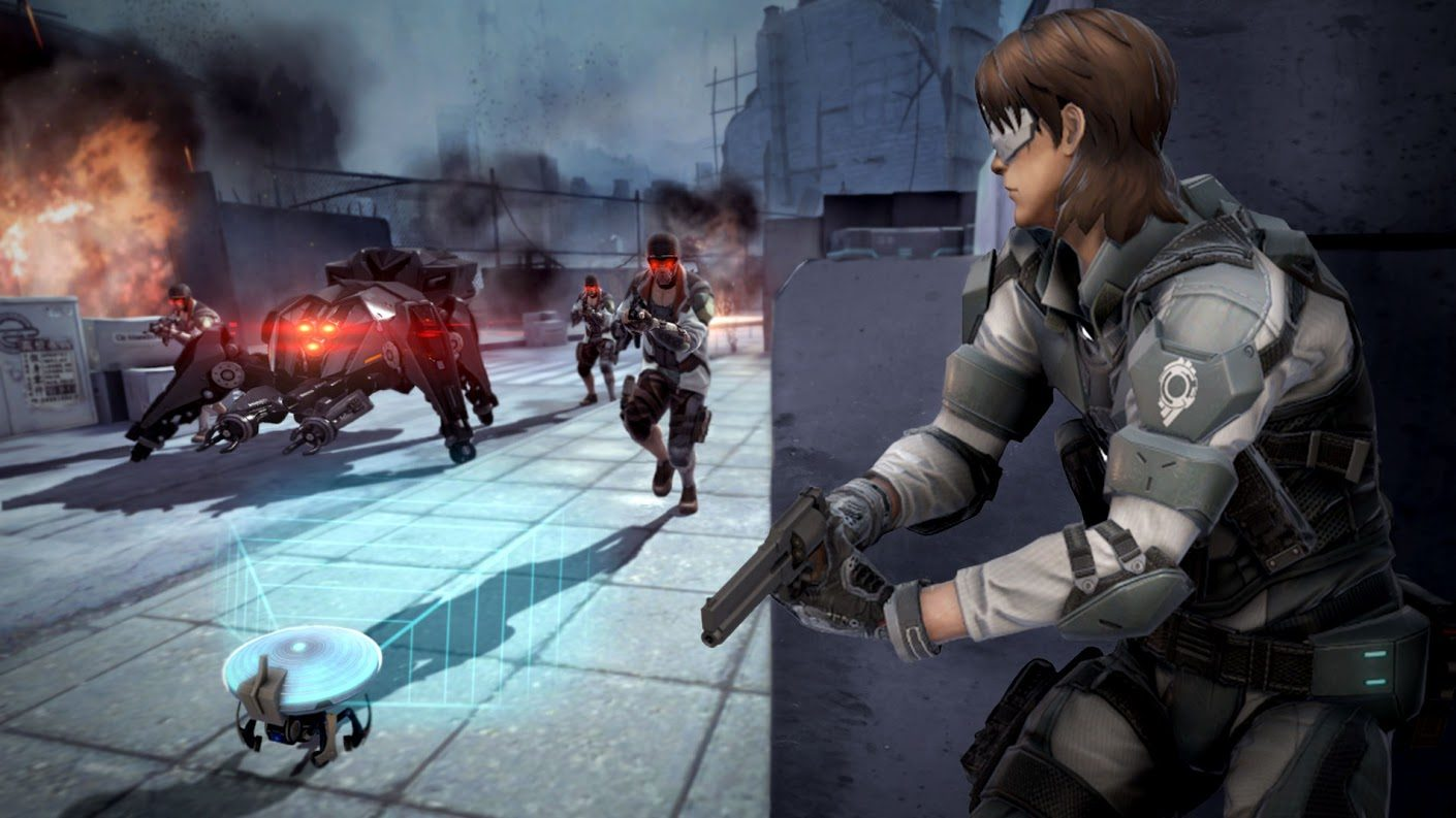 Neople Launches Early Access For Ghost In The Shell First Assault On Steam Mxdwn Games