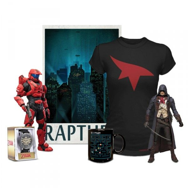 Sampling of Gaming Related items from Loot Crate
