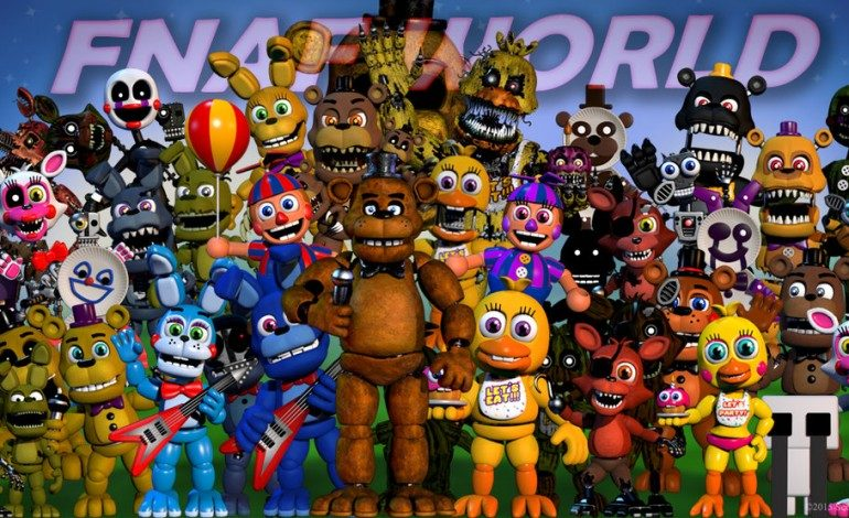 Five Nights At Freddy's World Releases a Month Early, Available Now on Steam