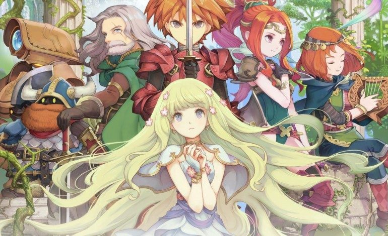 Square Enix Releases Character Art for Adventures of Mana; Will Only Release on Smartphone Devices in the West