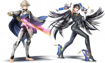 Bayonetta and Corrin DLC released for Smash Bros.