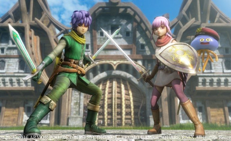 Square Enix Reveals Leveling, Power Moves, and Multiplayer for Dragon Quest Heroes 2