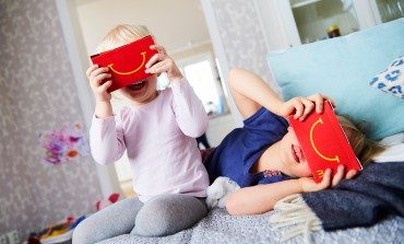 McDonalds to Introduce VR Headsets Made Out of Happy Meal Boxes