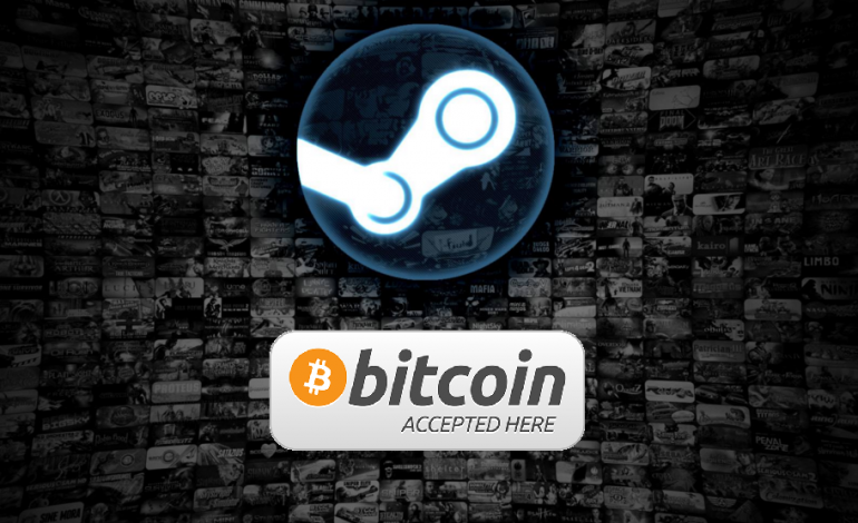 Steam To Accept Bitcoin For Purchases
