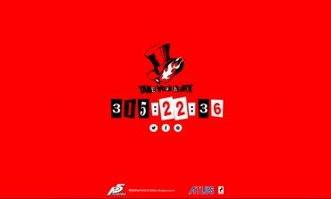 Persona 5 Countdown Out On Atlus Website
