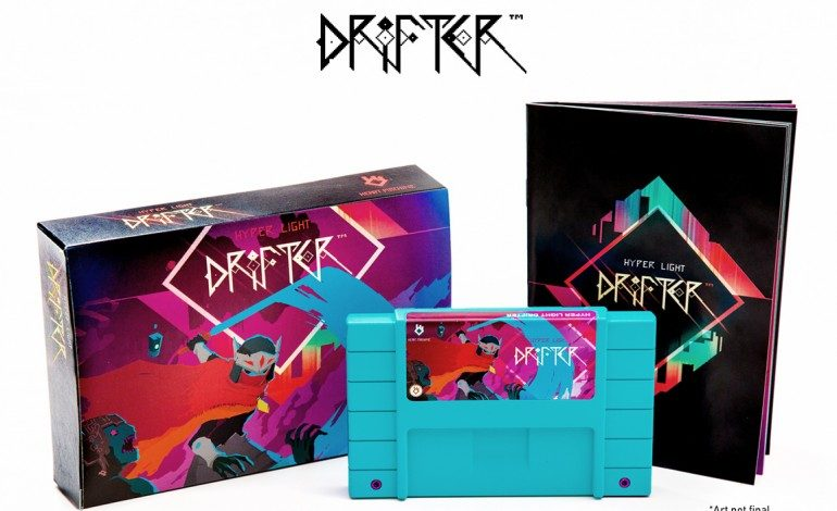 Hyper Light Drifter Is Getting A Swanky Special Edition With A SNES Cartridge!