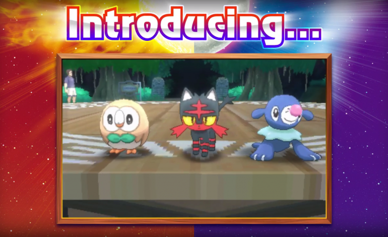 Nintendo Releases New Details About Pokémon Sun And Moon