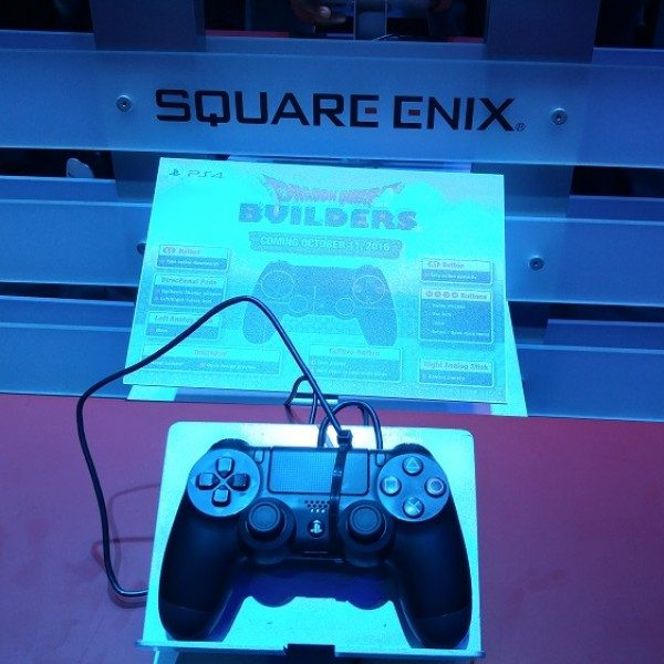 Square Enix demo set up for the game.