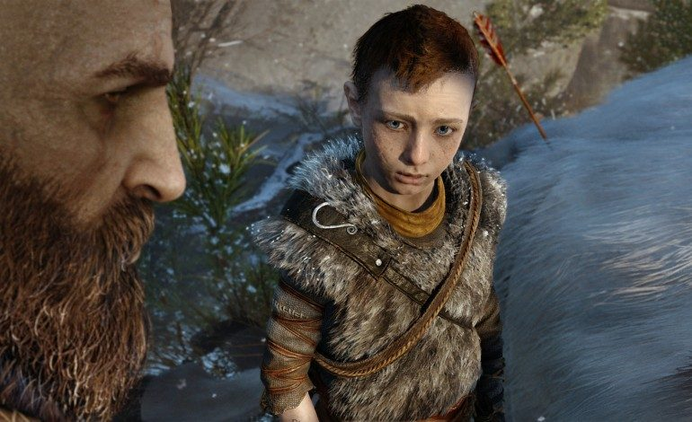 """God of War E3 2016 Gameplay Demo Features Kratos and His Son """"Boy"""""""