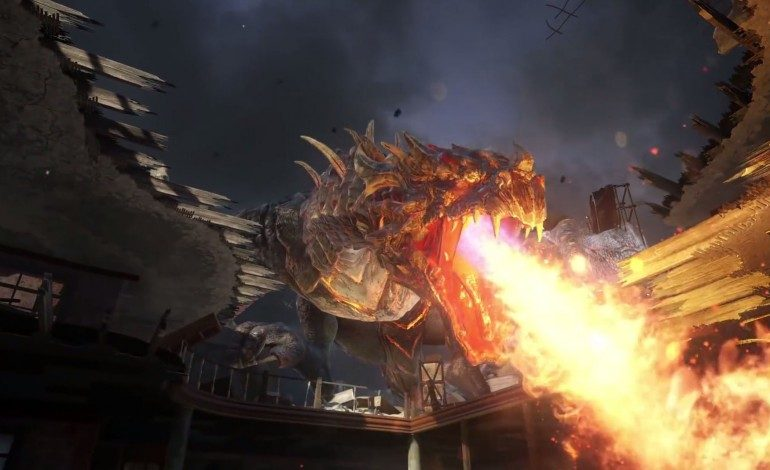 Call Of Duty Descent DLC Adds Dragons And Mechanical Zombies To The Mix