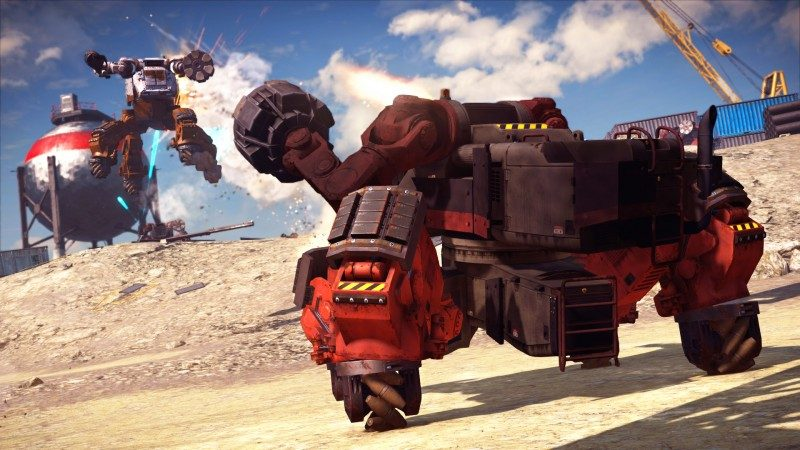 Just cause 3 mech 3