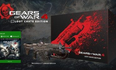 Special Edition Loot Crate Just For Gears of War 4