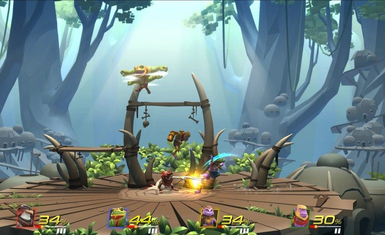 Brawlout, Smash Bros Inspired Game, Reveal Trailer Released