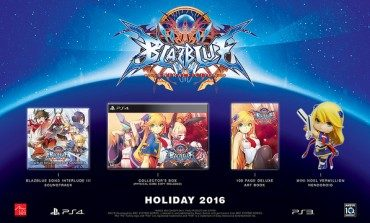BlazBlue: Central Fiction North American Limited Edition and Other Details Announced