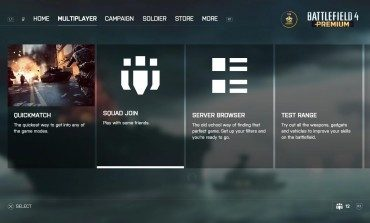New Cleaner Menu For PS4 And Xbox One Versions Of Battlefield 4