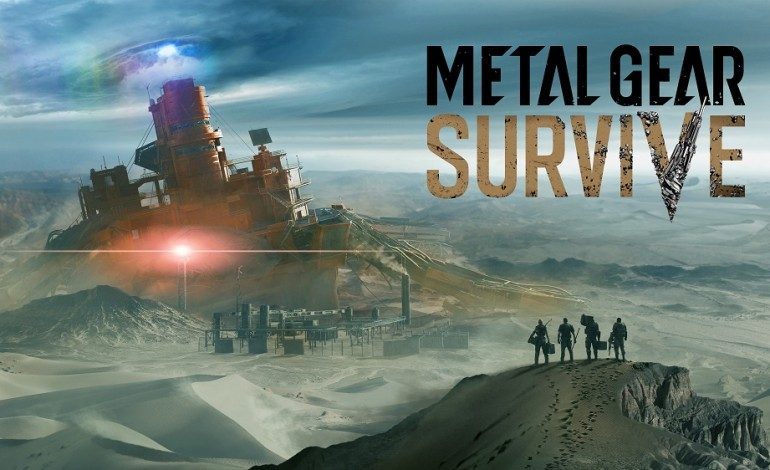 New 15 Minute Metal Gear Survive Gameplay Demo at Tokyo Game Show 2016