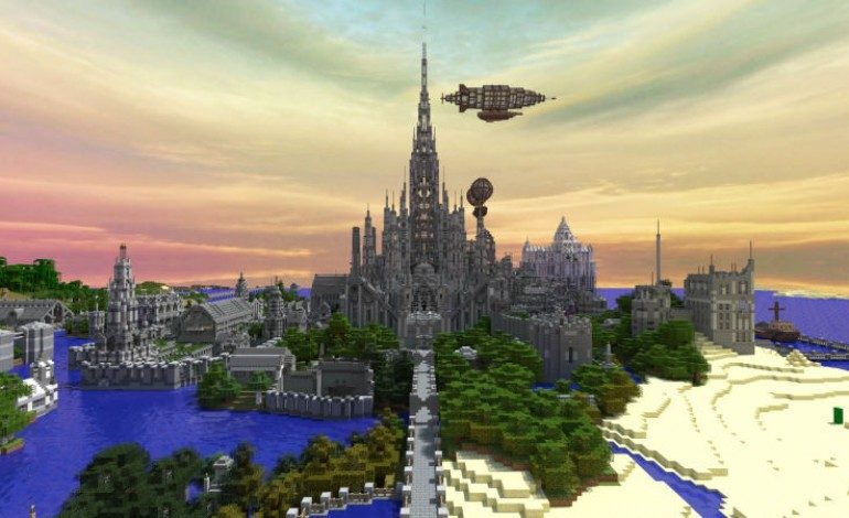 Man Finishes Minecraft Castle After Five Years Mxdwn Games