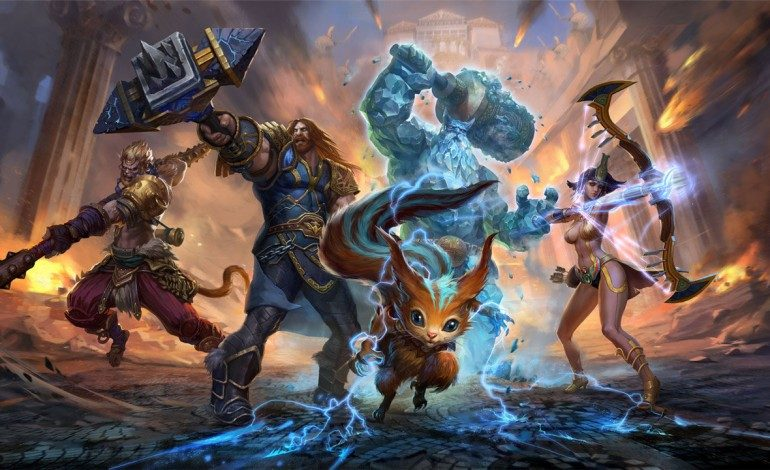 New Patch For Smite Released For PS4, Xbox One