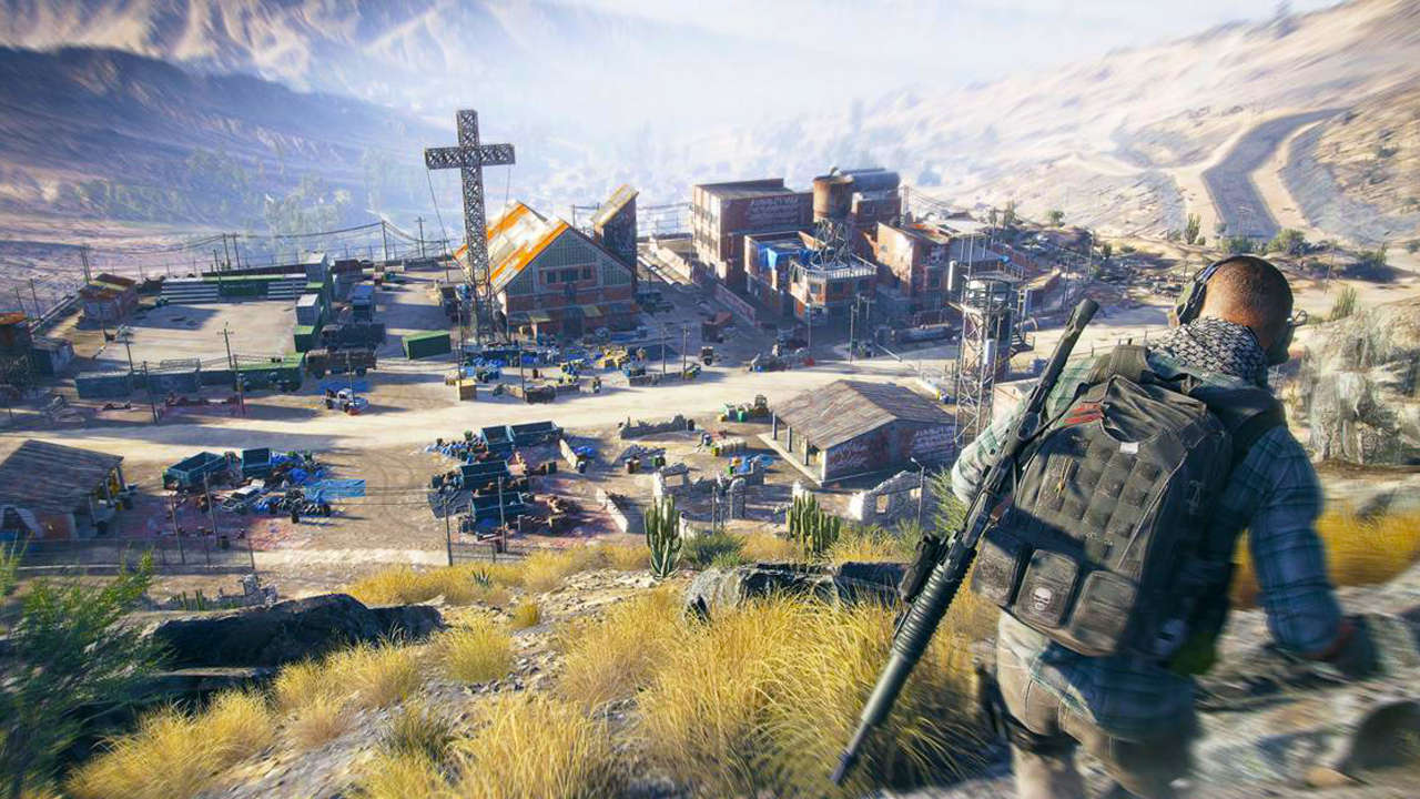 Ghost Recon Wildlands Parachuting Wallpaper 10222: Ghost Recon: Wildlands Beta Officially Confirmed