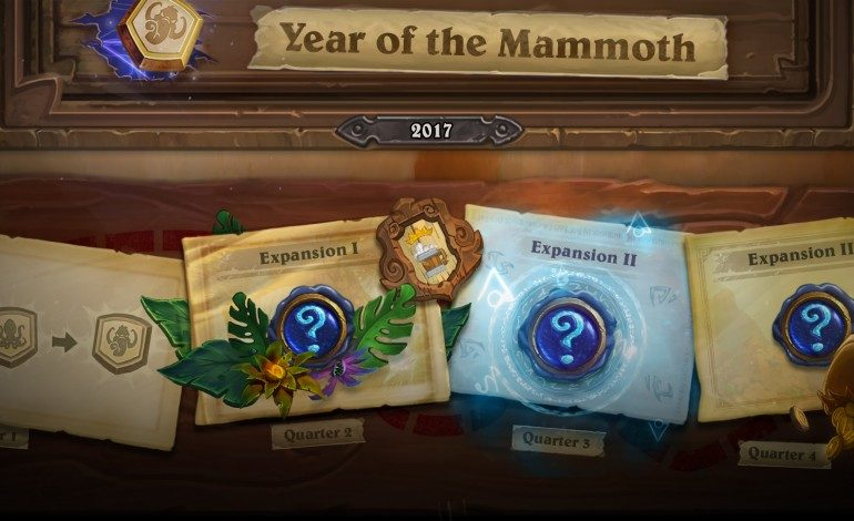 Hearthstone's Year of the Mammoth Content Detailed