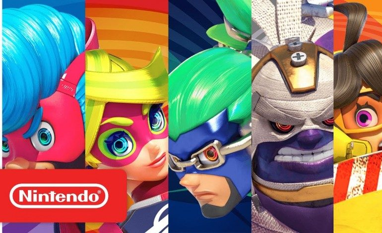 New Videos From Nintendo Introduce Us to the Faces and Fists of Arms