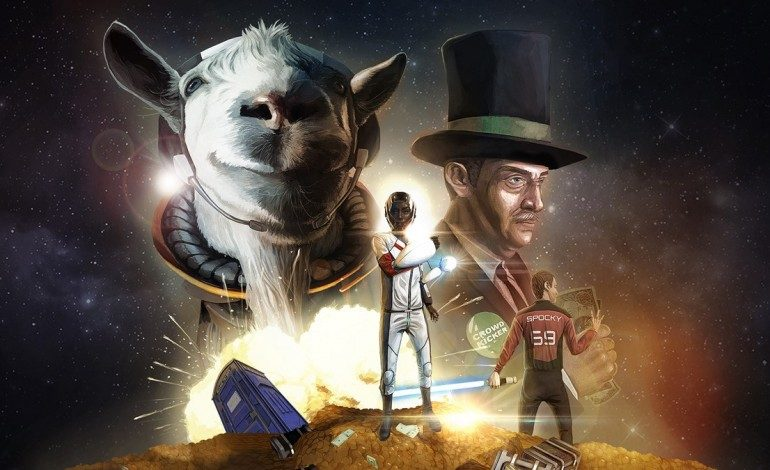 """Goat Simulator DLC """"Waste of Space"""" Comes to PlayStation 4"""