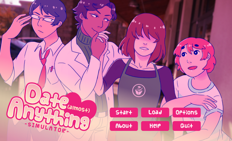 Literature girl dating sim