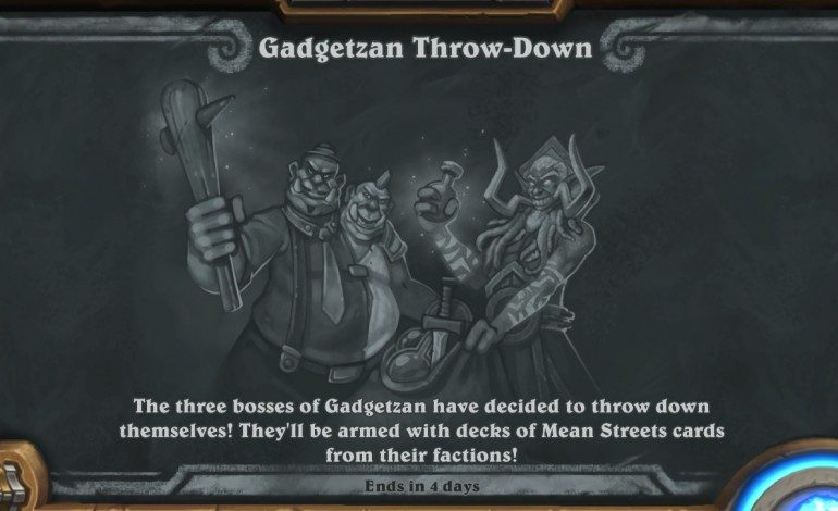 New Hearthstone Tavern Brawl Released