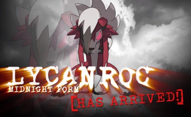 New Lycanroc Event for Pokémon Sun and Moon Available in the Americas