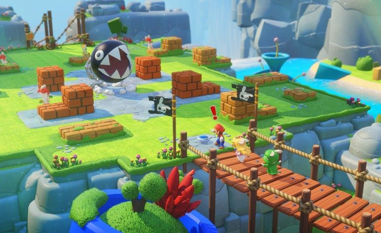 Mario + Rabbids Kingdom Battle Gameplay Revealed at Nintendo E3 2017