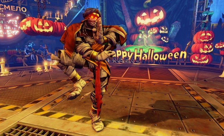 Street Fighter V Prepares for Fall with Halloween Costumes, Brings Back Spooky Arena