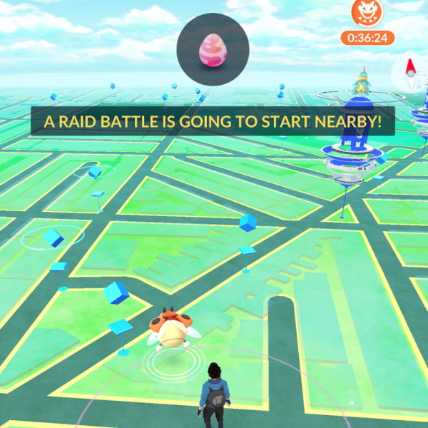 pokemon go raid battle