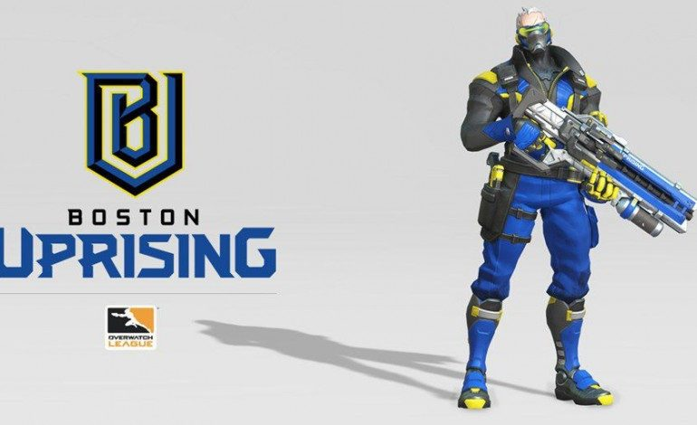 Boston Uprising Brand and Roster Announced for Overwatch League