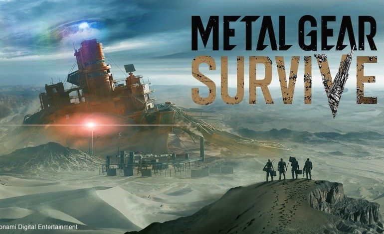 Metal Gear Survive Will Require Internet Connection for Single-Player