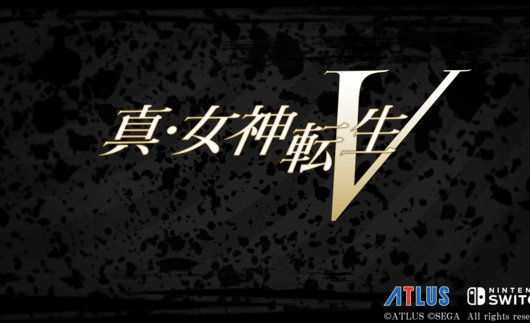 Shin Megami Tensei V Announced as Switch Exclusive