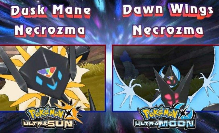Necrozma Gains New Forms, Z-Moves in Pokemon Ultra Sun, Moon