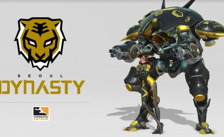 Overwatch League Announces Seoul Dynasty