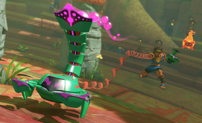 ARMS 4.0 Update Introduces New Fighter, Misango